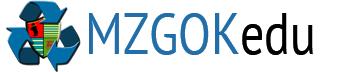 Logo strony edukacyjnej MZGOKedu